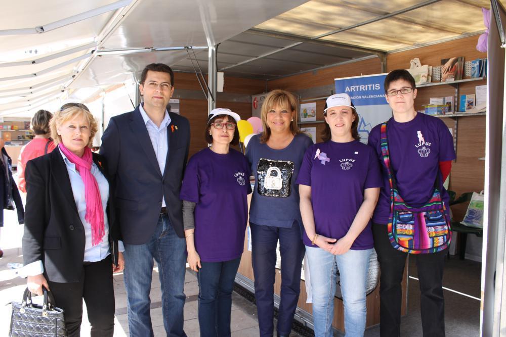 Amparo Mora invitada de honor en la feria de la Salud de Alfafar
