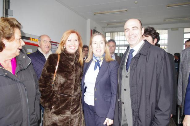 Ana Pastor y alcalde de Xirivella y Aldaia