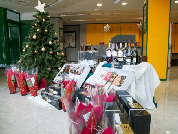 Cajas de navidad de la Caixa Popular