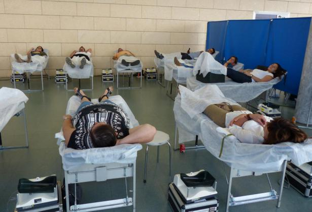 Donación de sangre en Algemesí