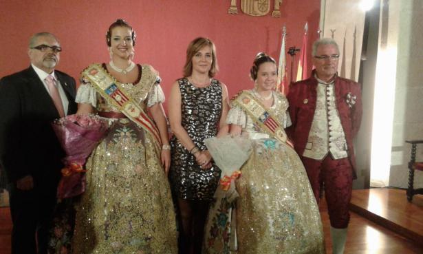 Falleras Mayores de Alzira