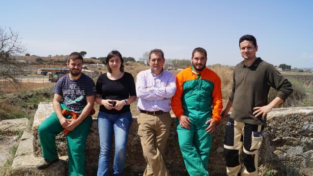 Gestión Forestal y del Medio Natural y está realizando en el ayuntamiento de Requena