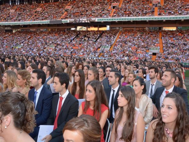 Graduación de la Universidad Católica de Valencia San Vicente Martir