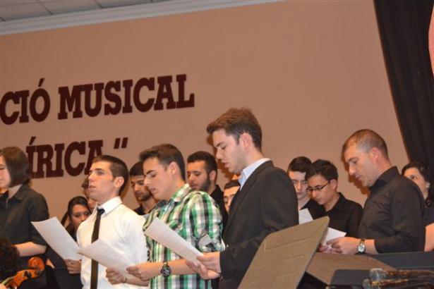 Graduación de musicos de Silla