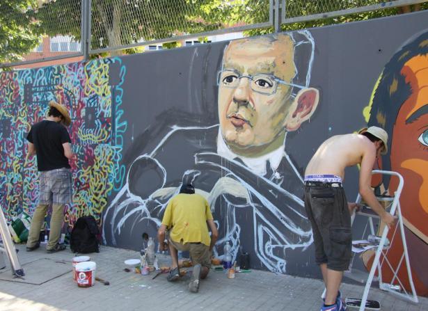 grafitti, los centenares de asistentes disfrutaron en Mislata