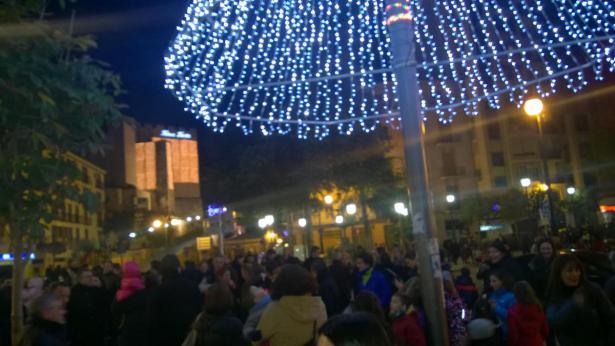 iluminación navideña Requena