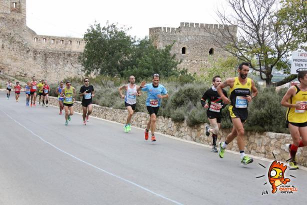 La Pujada al Castell de Xàtiva puso ayer el telón a la XVII