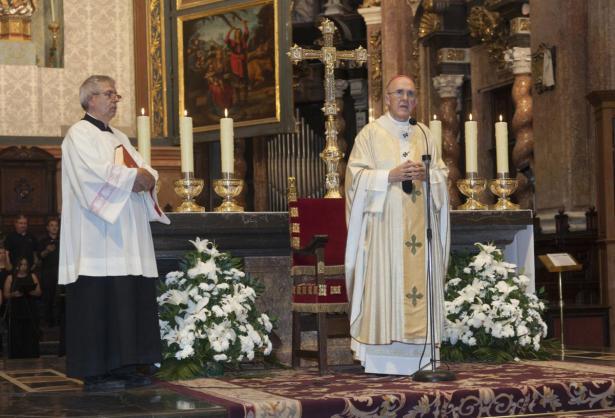 Misa por Juan XXIII y Juan Pablo II