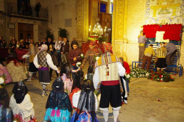 Ofrenda en Xirivella