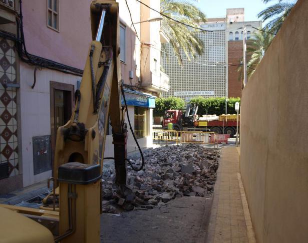 Peatonalización calle San Antonio en Catarroja