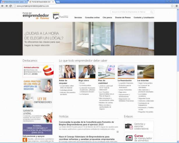 Paterna ofrece un curso gratuito online de autoempleo para sus vecinos para configurar correo movistar