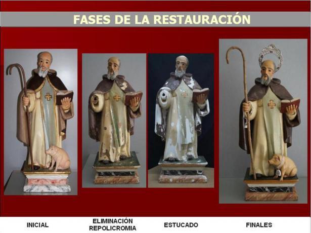 Restauración de San Antonio Abad en Alzira