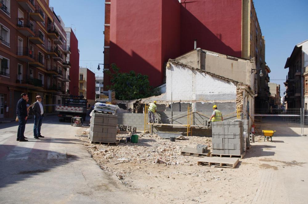Xirivella, obras mejora de calles