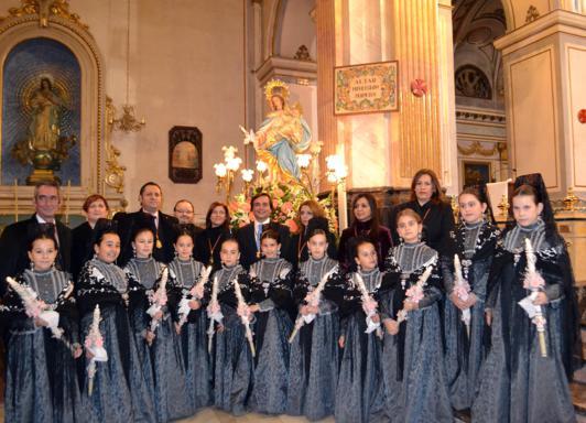 Celebración procesión Candelaria Manises 2014_532x384